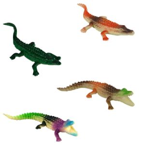 Mini Crocodile Figures (12 pcs)