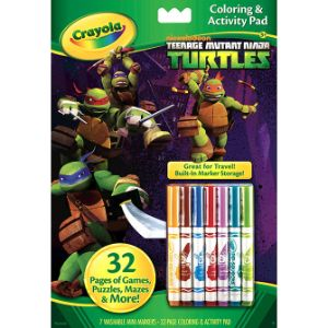 TMNT Coloring & Activity Pad