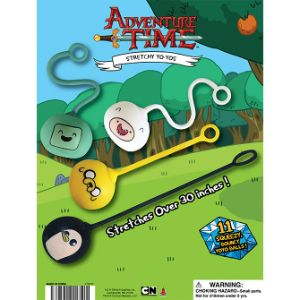 Adventure Time Stretchy Yoyo Display Card