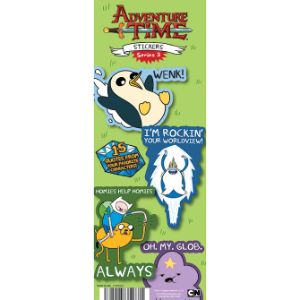 Adventure Time Series 3 Stickers Display