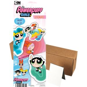 Powerpuff Girls Series 1 Stickers in Folders (300 pcs)