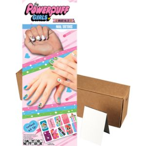 Powerpuff Girls Nail Tattoos in Folders (300 pcs)