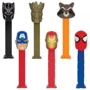 PEZ Marvel Dispensers Display Box (12 pcs)