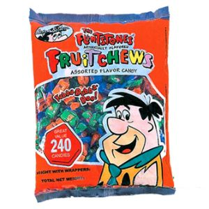 Albert & Sons Flintstone Fruit Chews Bag (240 pcs)