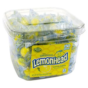 Lemonheads 40.5 oz. Tub (150 pcs)