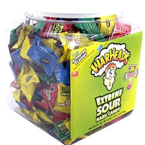 Warheads Tub 12oz. Tub (240 pcs)