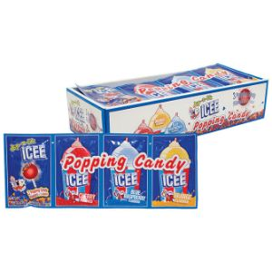 ICEE® 3 Pack Popping Candy Display Box (12 pcs)