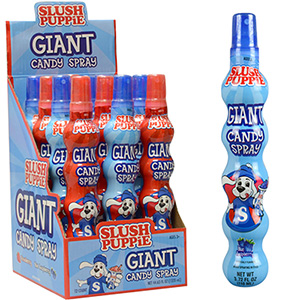 SLUSH PUPPiE® Giant Candy Spray Display Box (12 pcs)