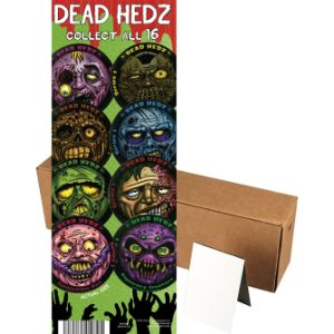 Dead Head Stickers in Folders (300 pcs)