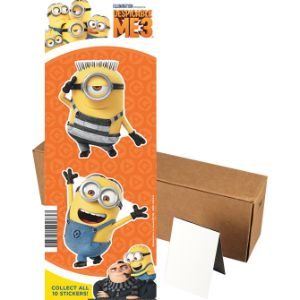 Despicable Me 3 Stickers in Folders (300 pcs)