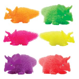Light-Up Dino Puffer 5in (12 pcs)