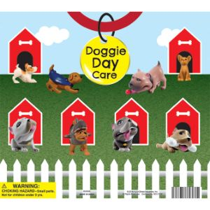 Doggie Day Care Mix Display Card