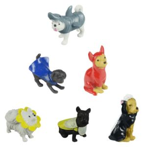 Dogs in Disguise Figurines in Bulk Bag (100 pcs)
