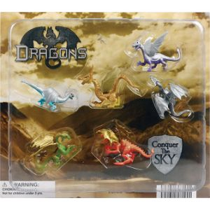 Dragon Figurines Blister Display