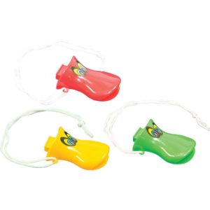 Duck Whistle Necklace 3'' (24 pcs)