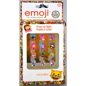 Emoji Nail Set 12 Pack