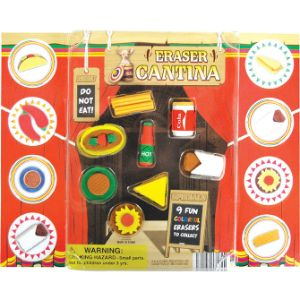 Eraser Cantina Puzzle Erasers Blister Display