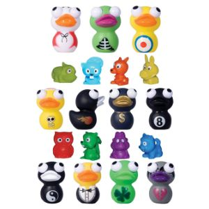 Eye Poppers Ducks & Mini Ducks Mix 2'' Capsules