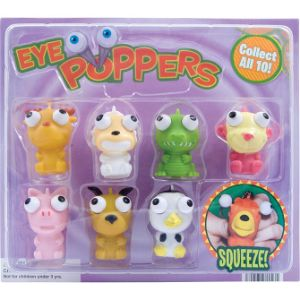 Eye Poppers or Eye Poppers & Mini-malz Mix Blister Display