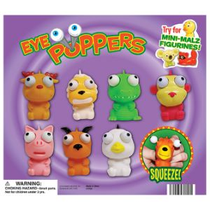 Eye Poppers & Mini-malz Display Card