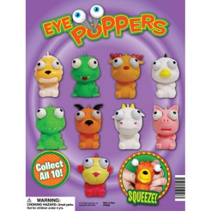 Eye Poppers Display Card