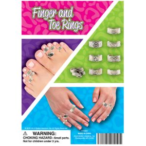 Finger & Toe Ring Display Card