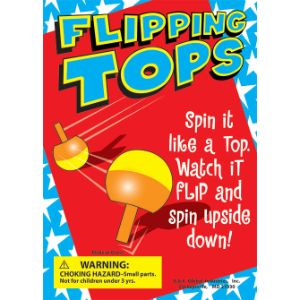 Flipping Tops Display Card