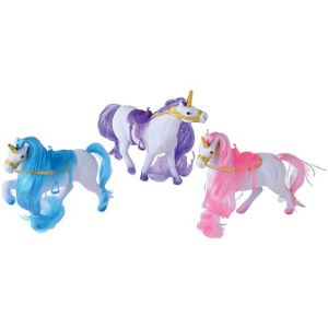 Flocked Unicorn Asst