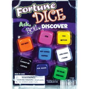 Fortune Dice Blister Display