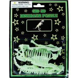 Glow-in-the-Dark Dinosaur Puzzle