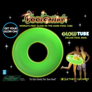Glow-in-the-Dark Pool Tube 36in