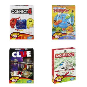 Hasbro Grab and Go Game Assorted
