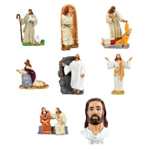 The Good Shepherd Figurines in Bulk Bag (100 pcs)
