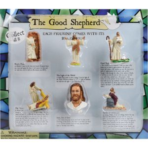 The Good Shepherd Figure Blister Display