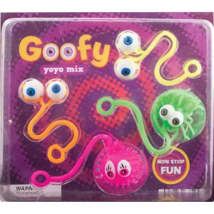 Goofy Eye Yo-Yo Mix Blister Display