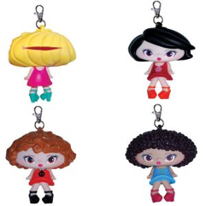Giant Head Purse Keychain Assorted