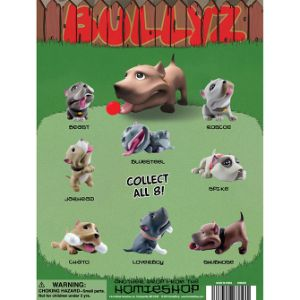 Bullyz Figurine Tomy Display Card