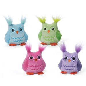 Happy Hoots Chatter Owl 3in Assorted