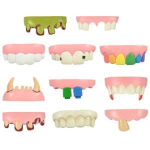 Tacky Teeth in 2'' Capsules (250 pcs)