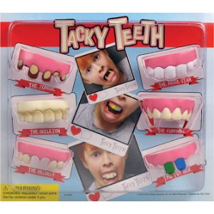 Tacky Teeth Blister Display
