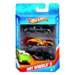 Hot Wheels Diecast Cars 3pk