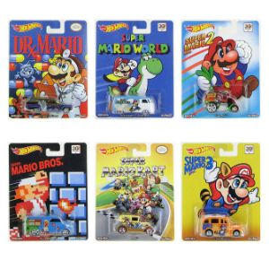 Hot Wheels Super Mario Cars
