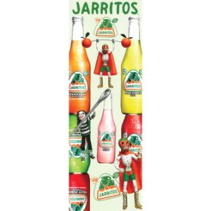 Jarritos Stickers Display