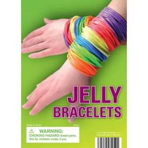 Jelly Bracelets Display Card
