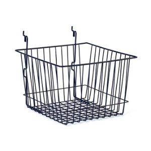 Wire Basket Black (24'' x 12'' x 8'')