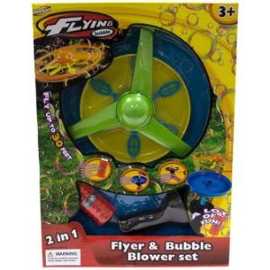Launcher - Flyer & Bubble Wand