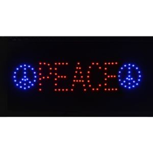 LED Peace Sign