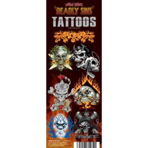 Deadly Sins/Twisted Fate Tattoos Display