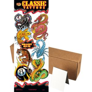 Classic Tattoos Series 1 in Folders (300 pcs)