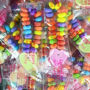 Candy Heart Charm Bracelets - Case (1000 pcs)